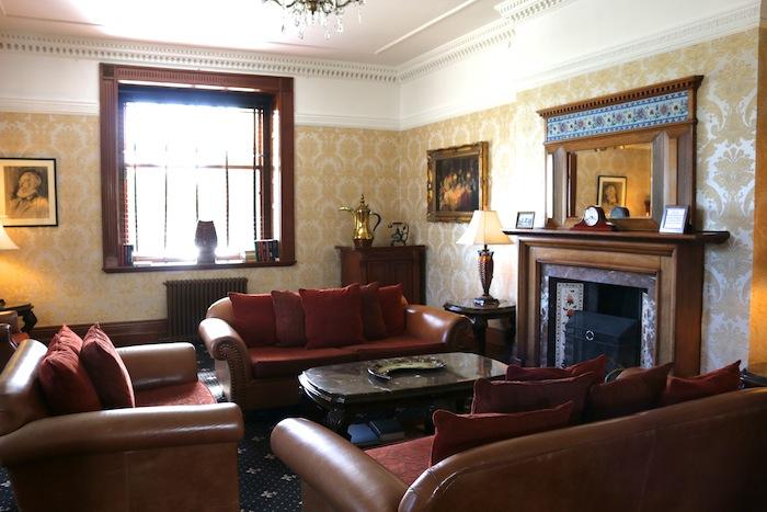 Bron Eifion Country House Reception Room