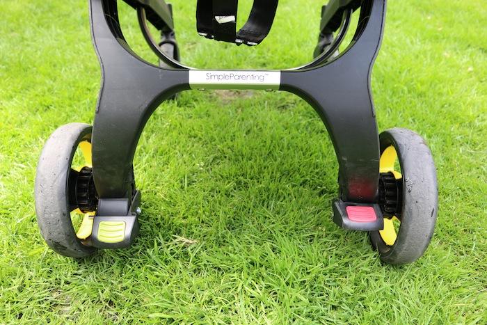Doona by Simple Parenting | Wheels plus breaks