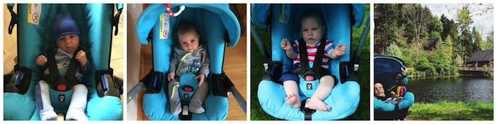 Doona pushchair car seat