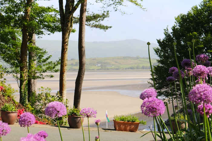 Portmeirion views to the beach