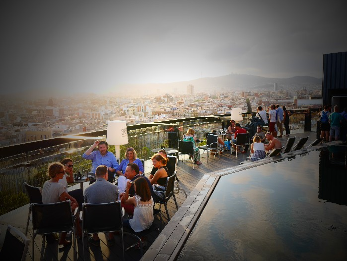 360 Rooftop Views At Barceló Raval Barcelona The Travel