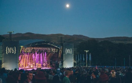 Festival No.6 in Portmeirion Wales