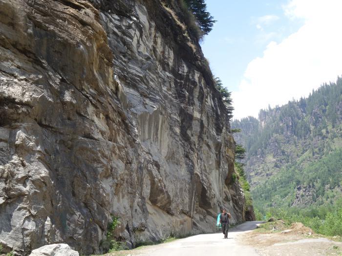Himalayas cliff