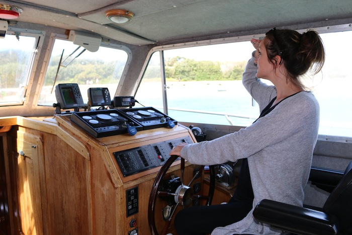 Isles of Scilly | Driving a boat