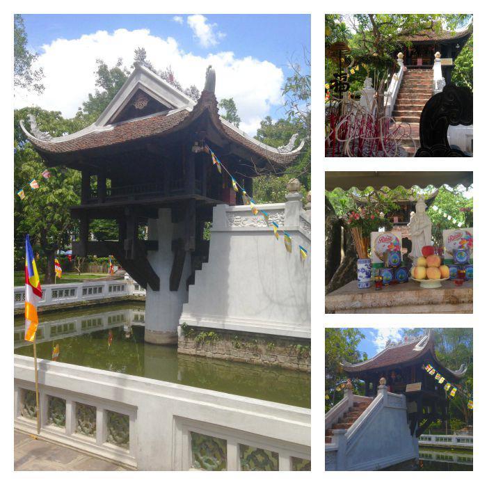 One Pillar Pagoda Montage