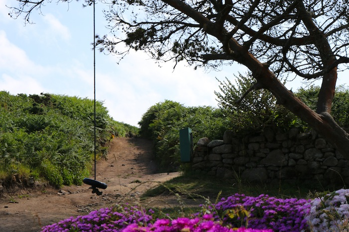 Rope swing on Bryher Island
