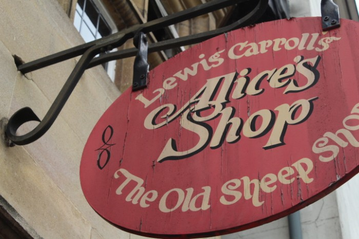 Alice's Sweet Shop in Oxford