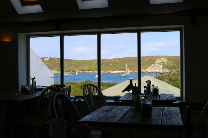 Views from Fraggle Rock Bar, Bryher Island