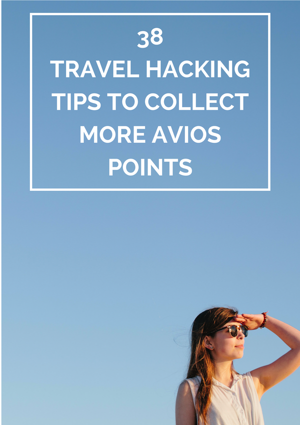 travel hacking tips to collect more avios points
