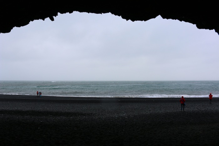 Cave on Reynisfjara Beach