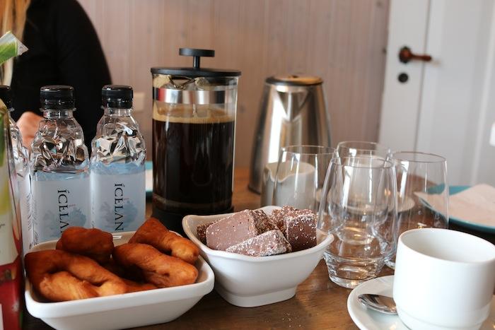Coffee break in Iceland