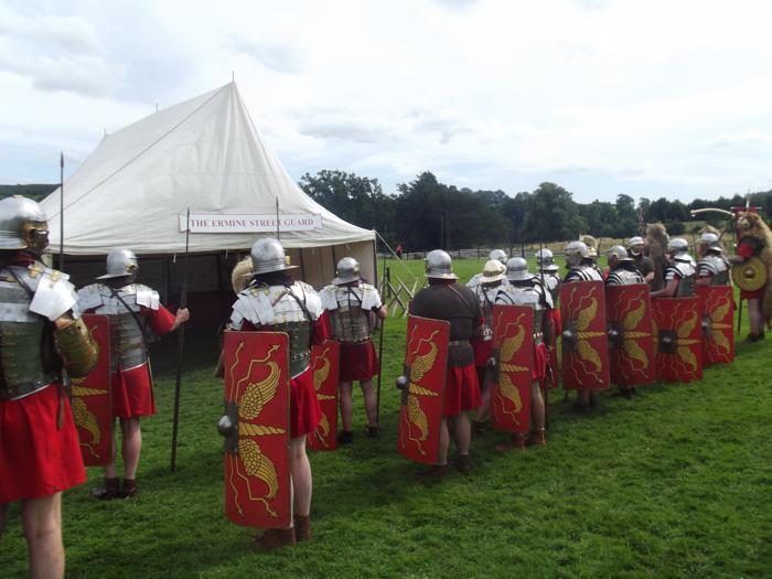 Roman reenactment at Hadrian's Wall