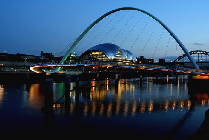 The Millennium Bridge, Newcastle