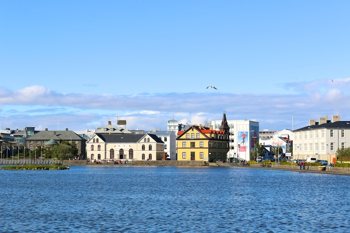 Reykjavik in the summer