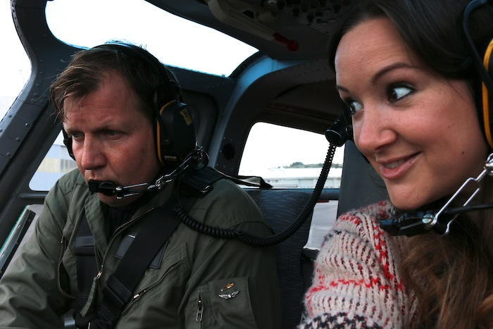 The Travel Hack helicopter ride