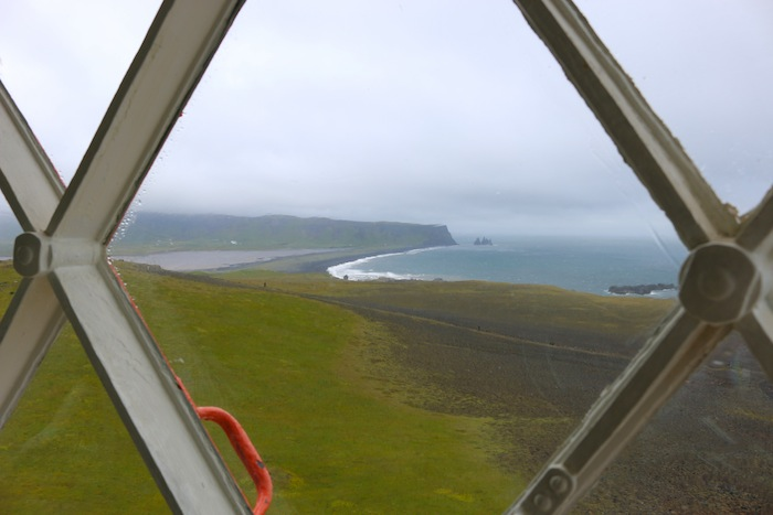 Views from the lighthouse in Iceland