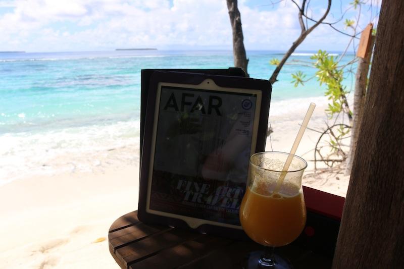 Afar Magazine in the Maldives