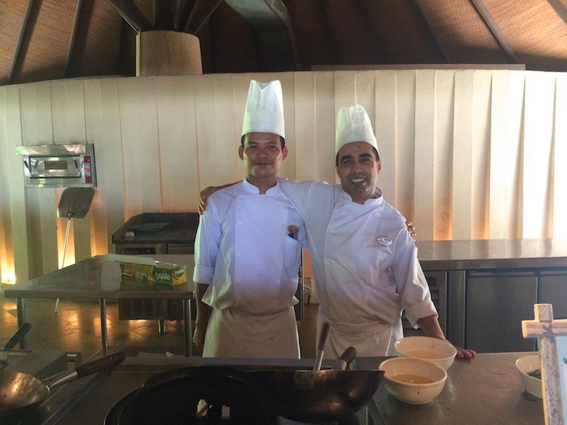 Chefs at Coco Palm Dhuni Kolhu