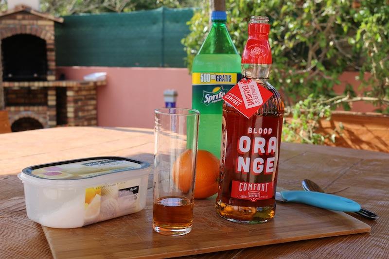 Frozen Blood Orange Cocktails 3