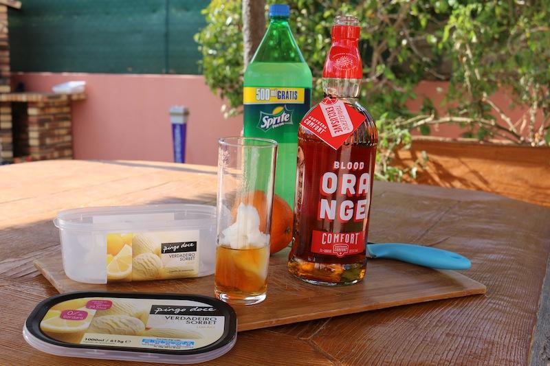 Frozen Blood Orange Cocktails 4