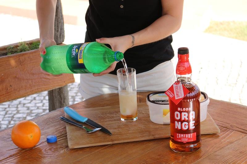 Frozen Blood Orange Cocktails 6