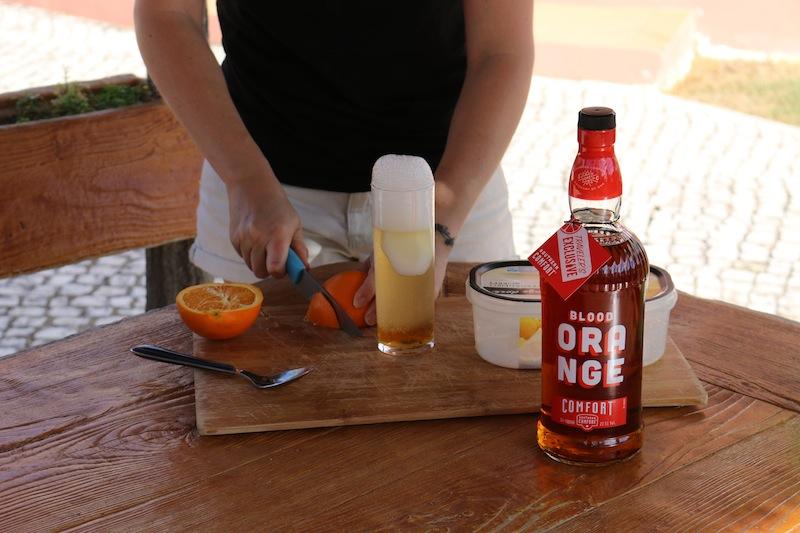Frozen Blood Orange Cocktails 8