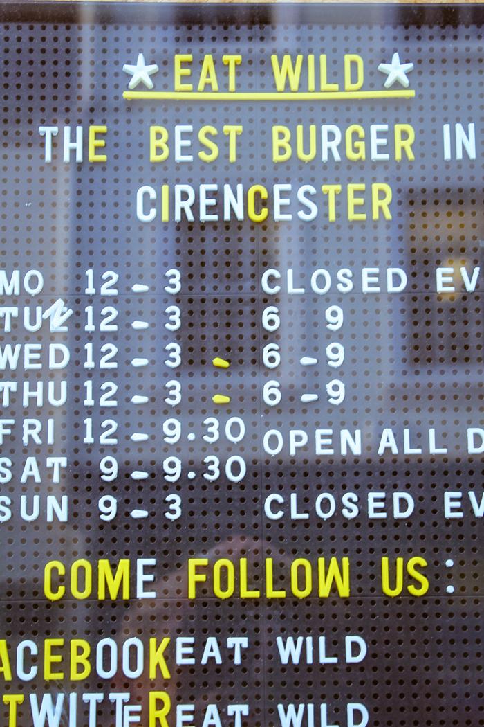 Eat Wild, Cirencester