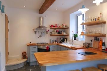 Blue kitchen blog