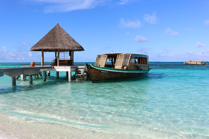 Boat trips in the Maldives