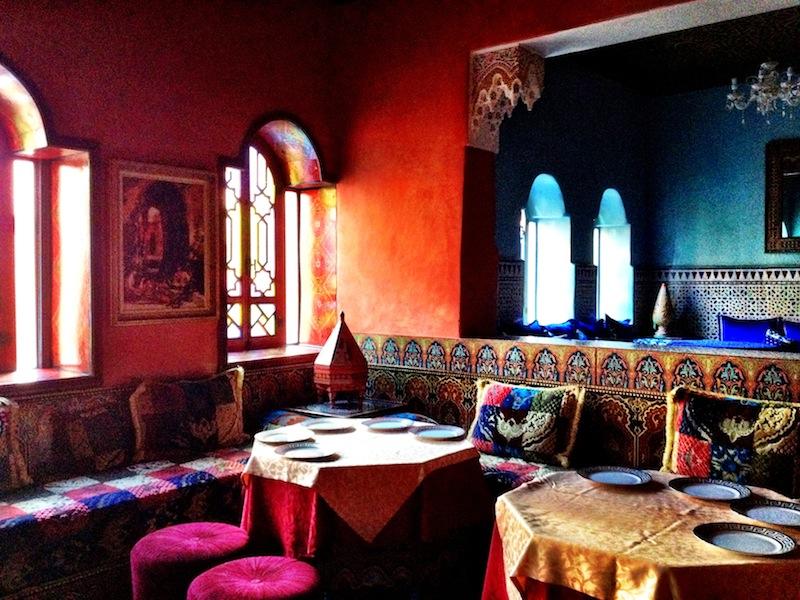 Restaurant in Morocco
