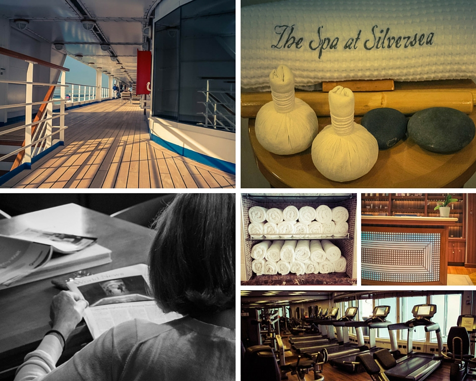 Just some of the onboard facilities you can enjoy