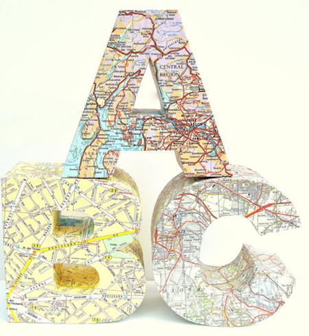 ABC map blocks