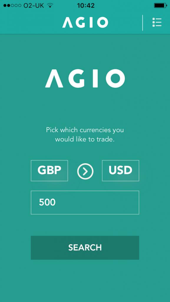 AGIO app