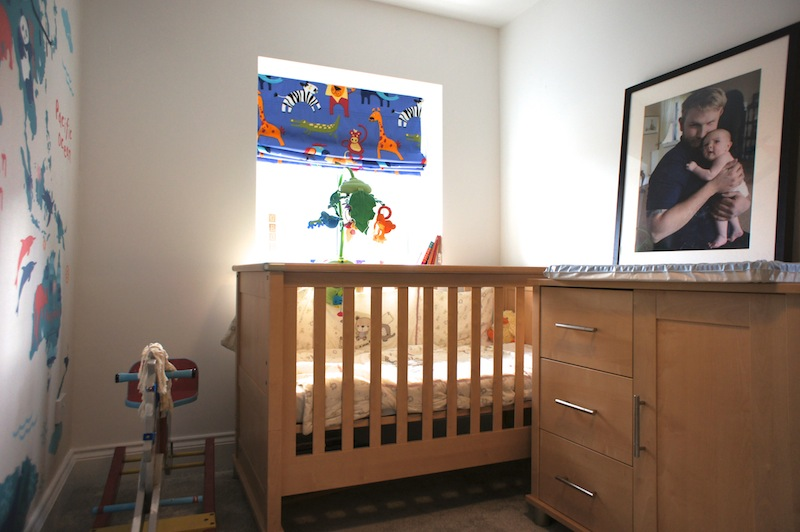 Childs Bedroom a travel themed child's bedroom