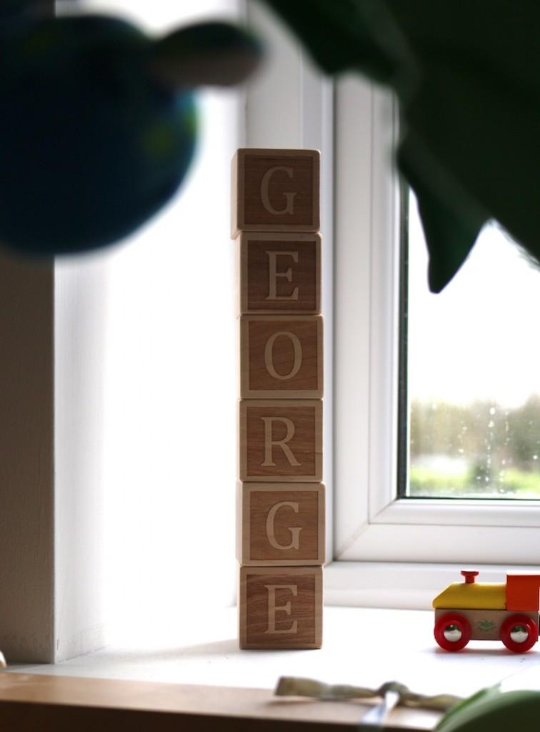 George blocks