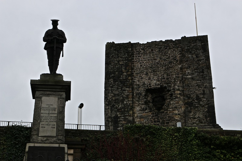 Clitheroe Castle and monument