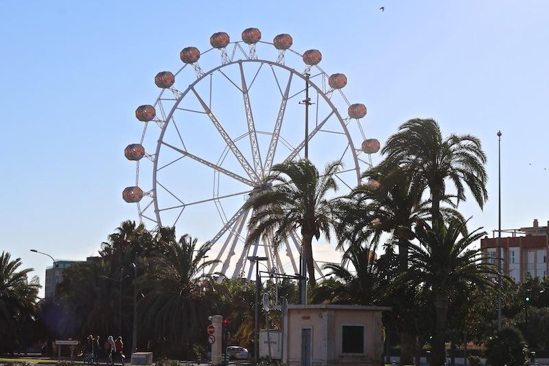 Ferris wheel in Valencia