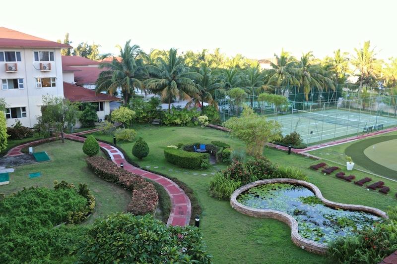 Gardens at Hulhule Island Hotel