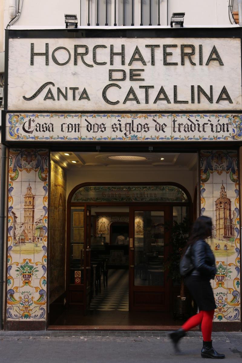 Horchataeria de Santa Catalina Valencia