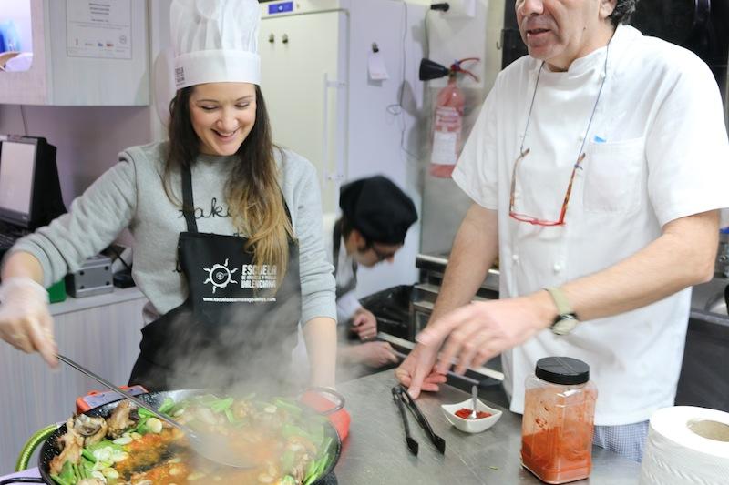 Paella cooking course Valencia