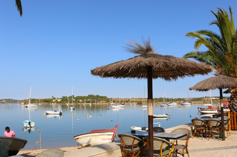 Portuguese fishing village