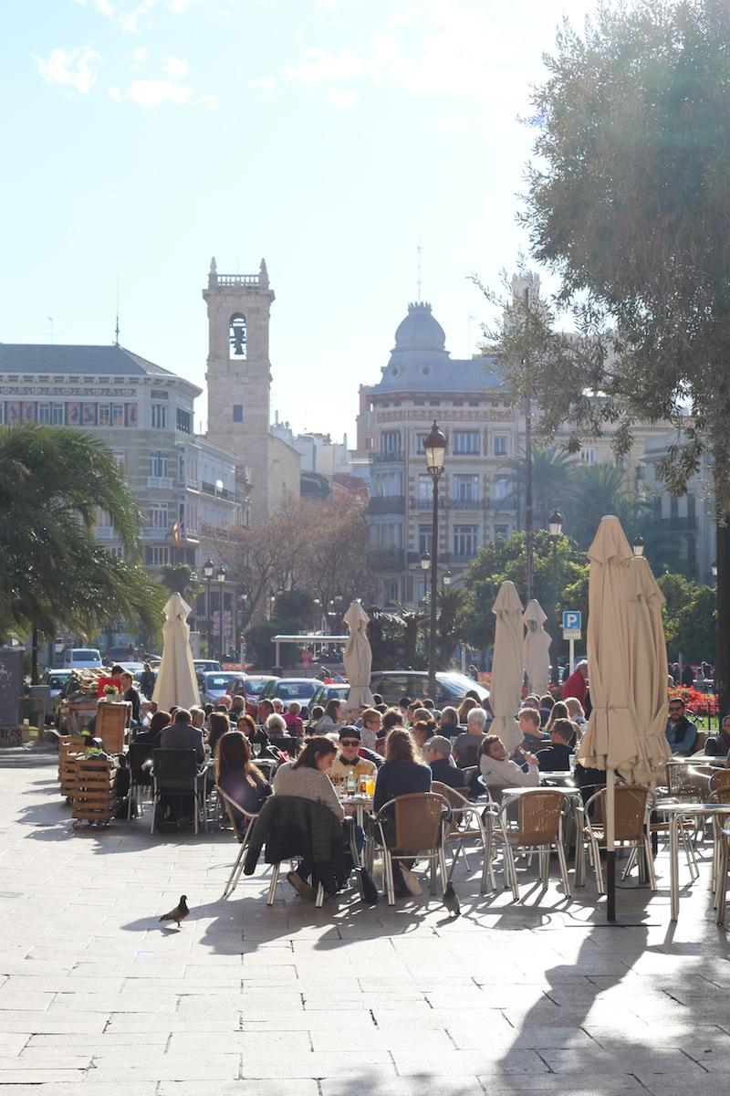 Valencia in the sunshine