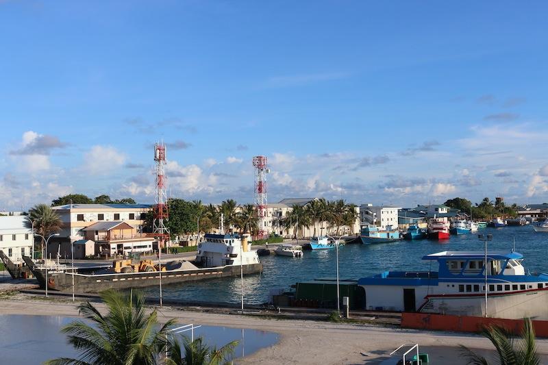 Views from Hulhule Island Hotel