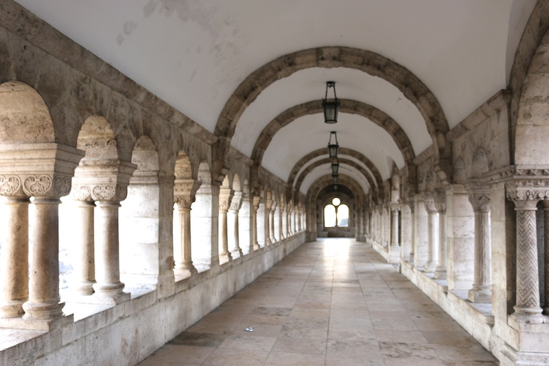 Archways at Fishermen's Bastion