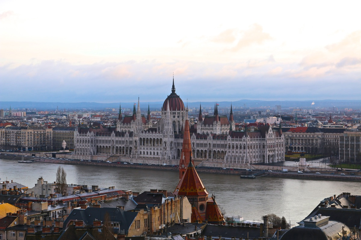 Budapest Parliament from Fishermen's Bastion