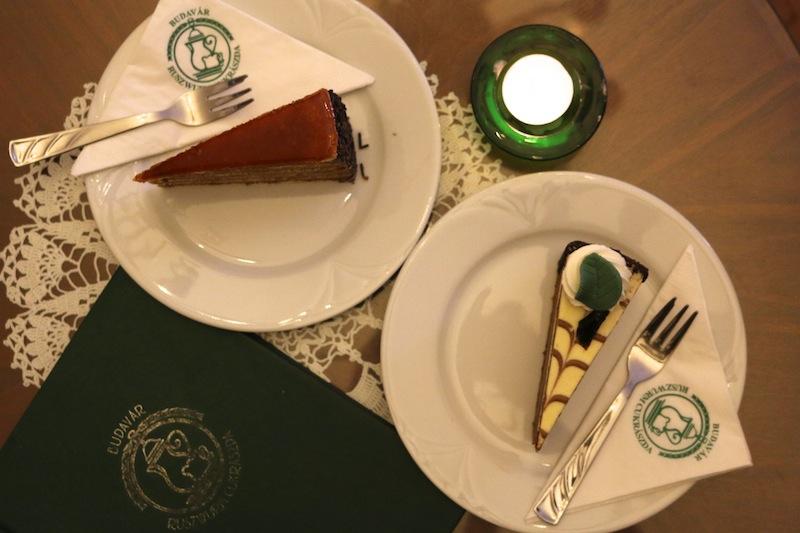 Cakes at Cafe Ruszwurm