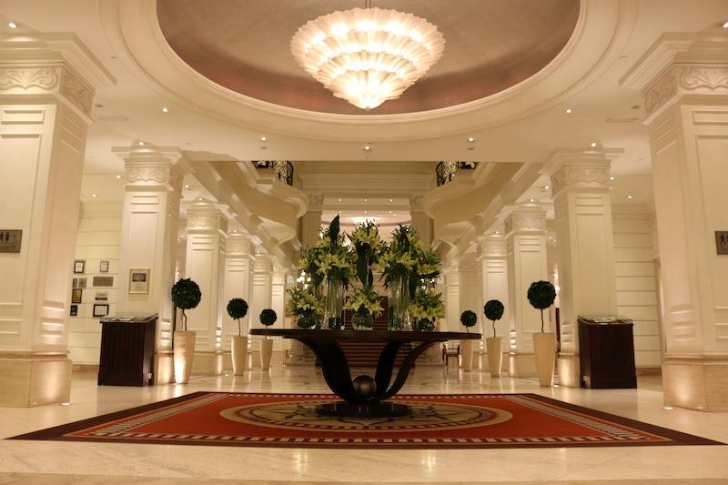 Corinthia Hotel Buapest Lobby