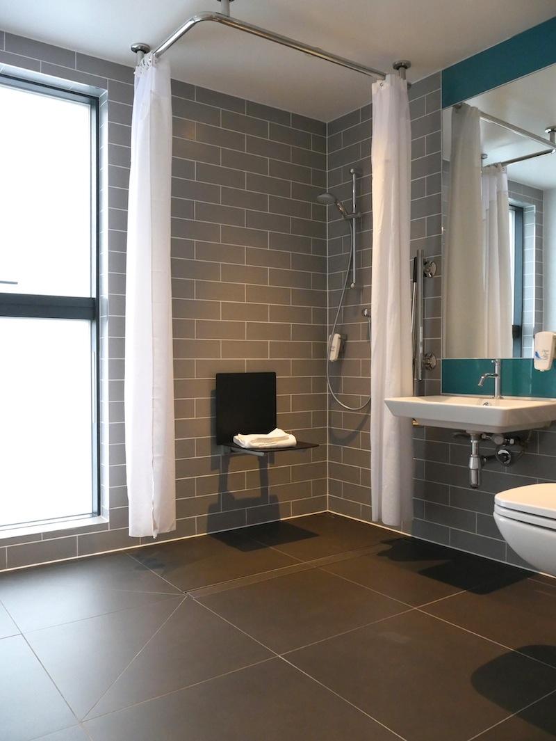 Disabled bathroom at Holiday Inn Express