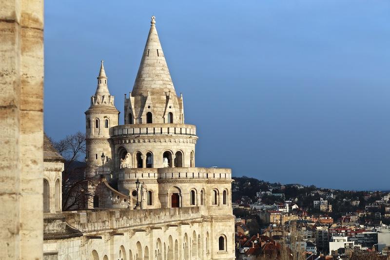Fishermen's Bastion turrets