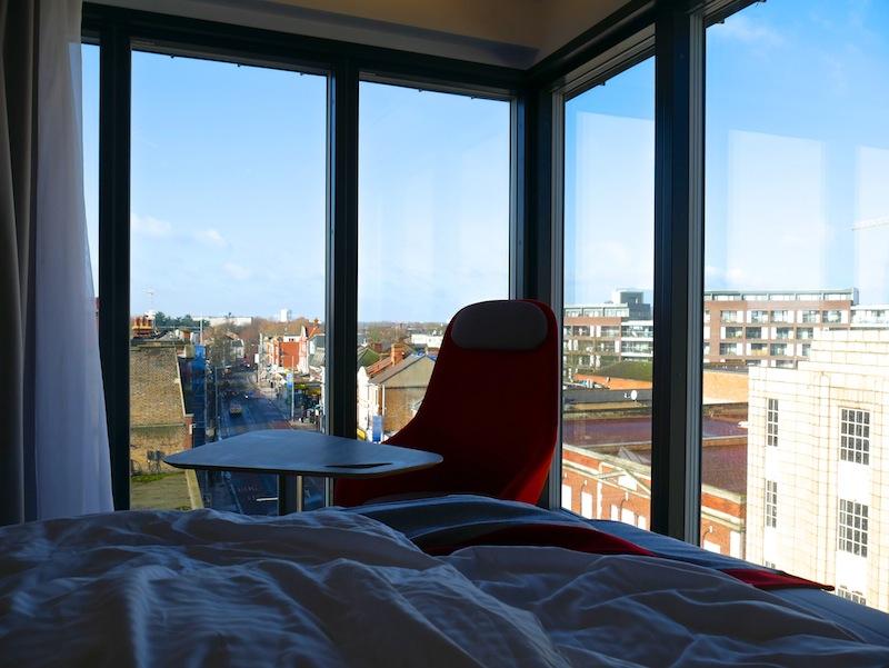Morning views from the Holiday Inn Express Ealing